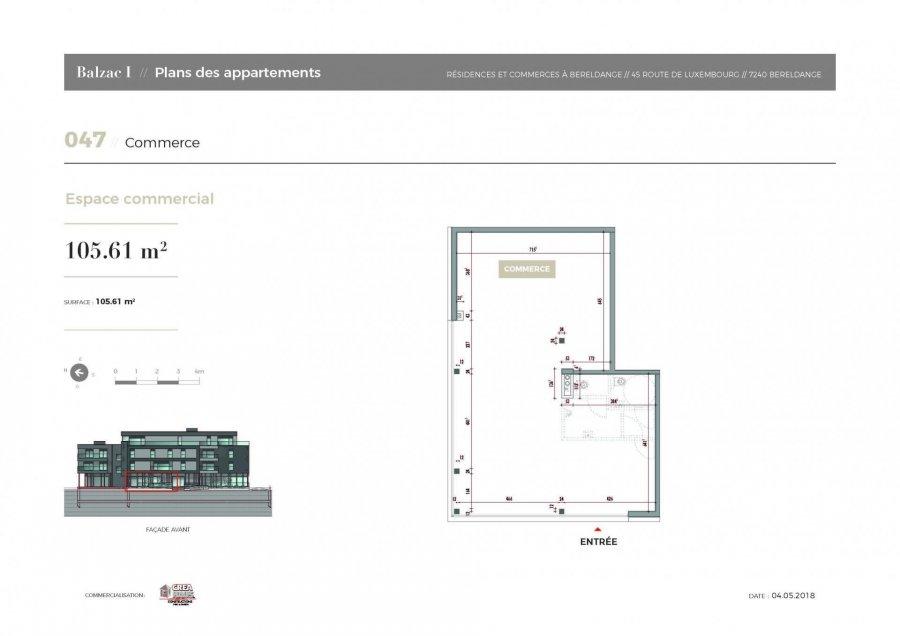büro kaufen 0 schlafzimmer 105.61 m² bereldange foto 3