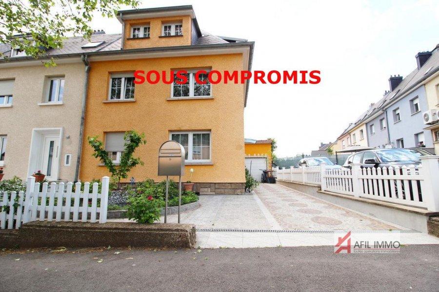 acheter maison individuelle 3 chambres 140 m² esch-sur-alzette photo 1
