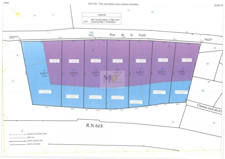 acheter terrain constructible 0 pièce 0 m² longuyon photo 2