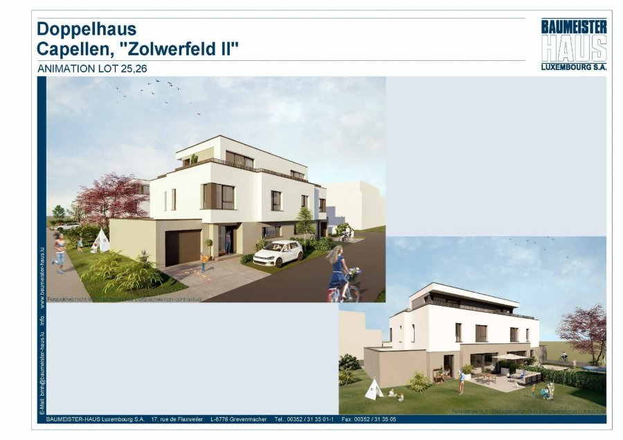 acheter maison jumelée 5 chambres 215 m² capellen photo 3