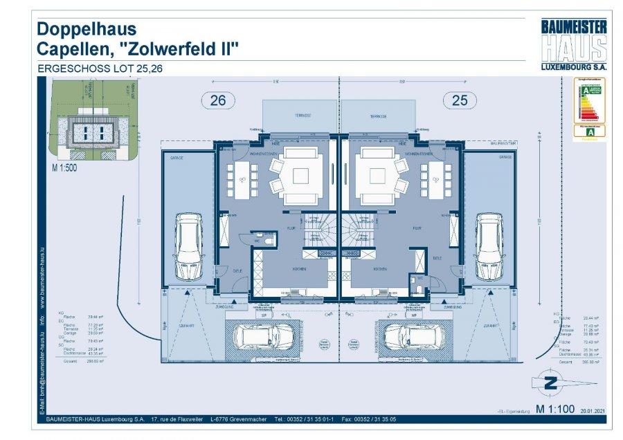 acheter maison jumelée 5 chambres 215 m² capellen photo 4