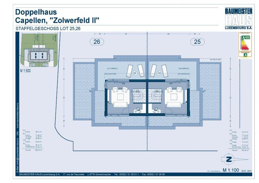 acheter maison jumelée 5 chambres 215 m² capellen photo 6