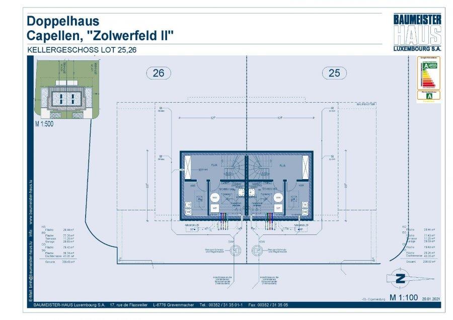 acheter maison jumelée 5 chambres 215 m² capellen photo 7