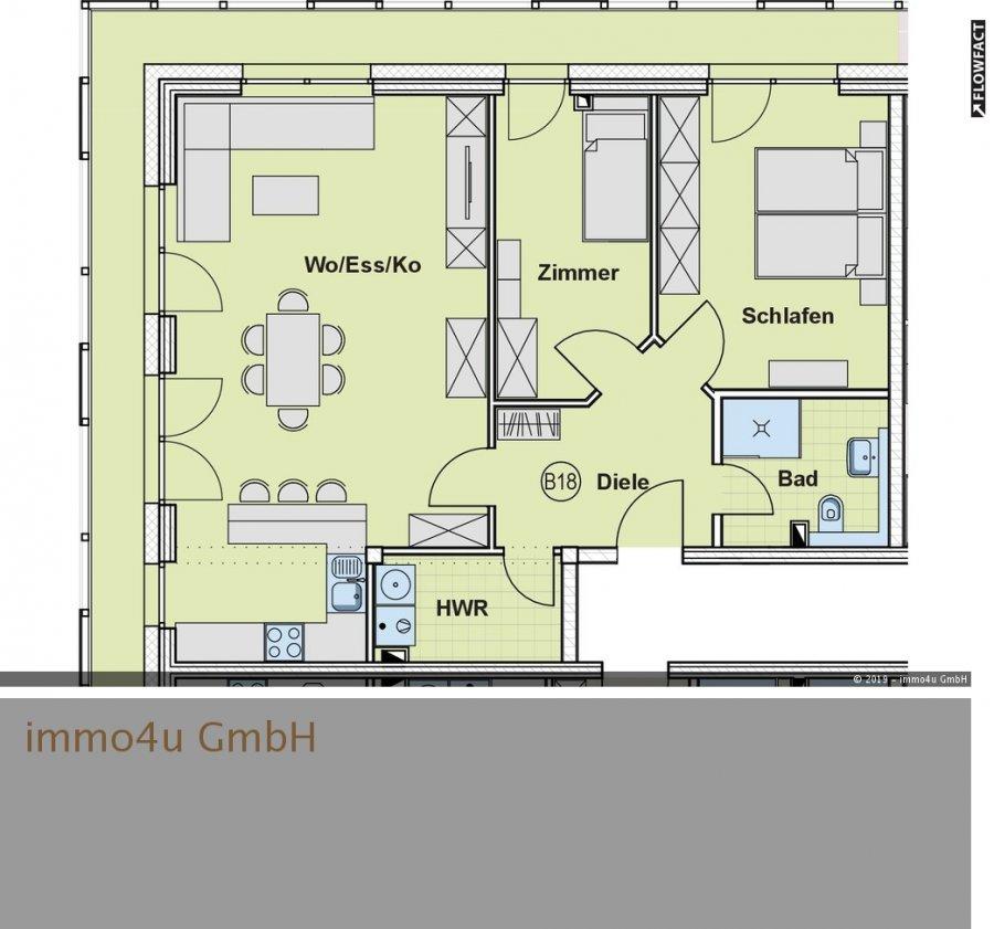 wohnung kaufen 3 zimmer 83.41 m² trier foto 1