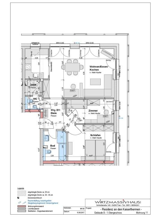 wohnung kaufen 3 zimmer 83.41 m² trier foto 2