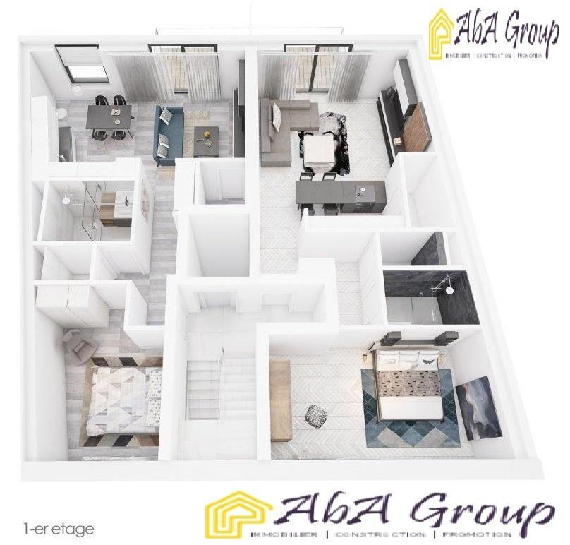 Appartement à vendre 1 chambre à Luxembourg-Rollingergrund