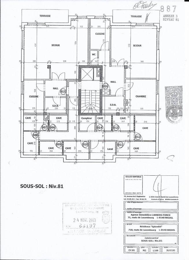 Appartement à louer 1 chambre à Bridel