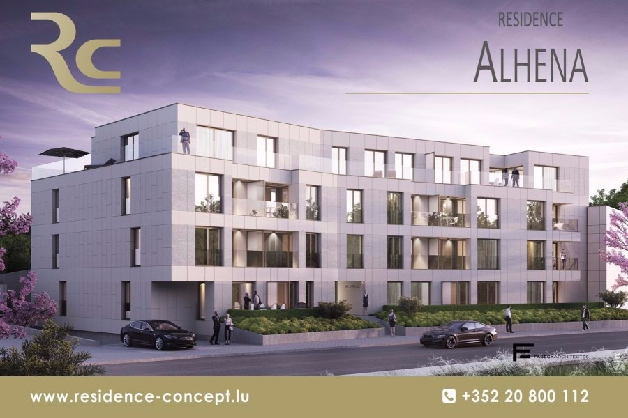 acheter appartement 1 chambre 49.43 m² luxembourg photo 2