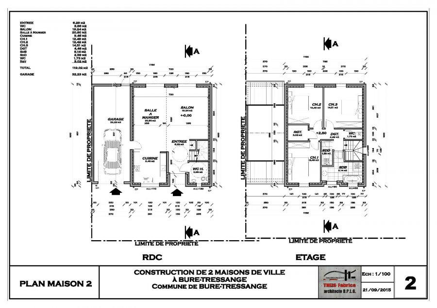 acheter maison 5 pièces 119 m² audun-le-tiche photo 4