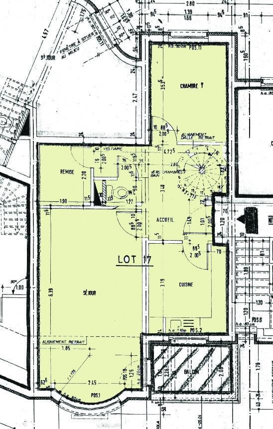 acheter duplex 3 chambres 107 m² luxembourg photo 2