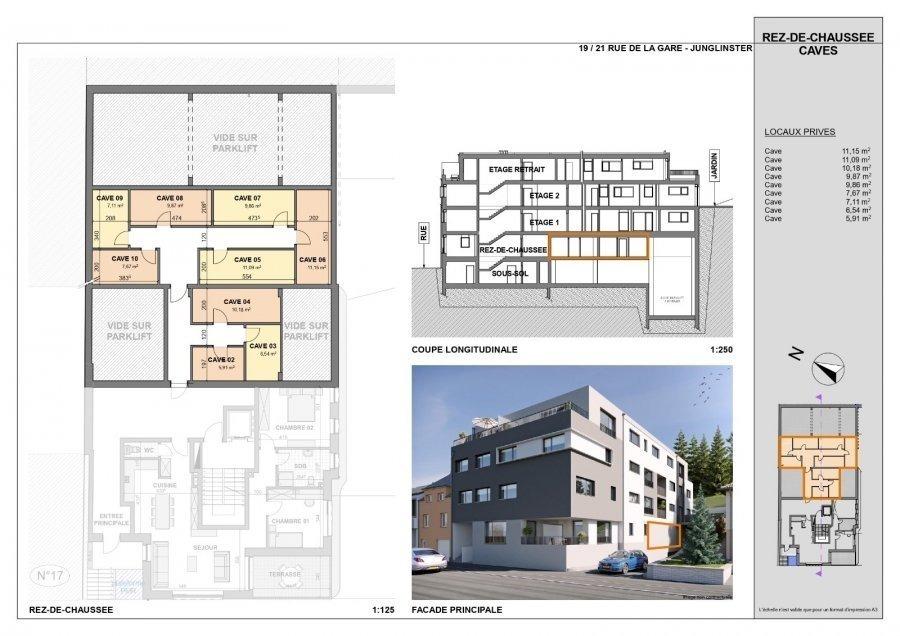 acheter appartement 1 chambre 92.21 m² junglinster photo 7