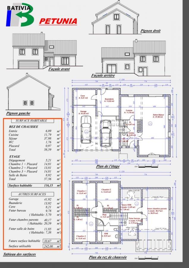 acheter maison individuelle 6 pièces 116 m² terville photo 4