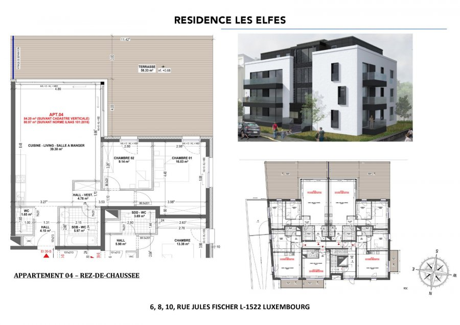 apartment for buy 2 bedrooms 80.97 m² luxembourg photo 3