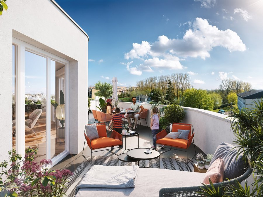 acheter appartement 4 pièces 75 m² thionville photo 6