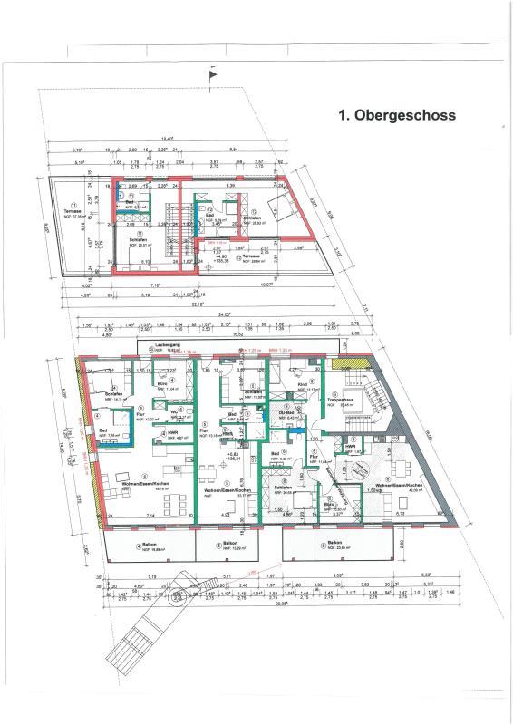 wohnung kaufen 3 zimmer 137.28 m² trier foto 5