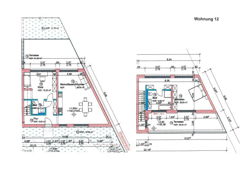 wohnung kaufen 3 zimmer 137.28 m² trier foto 1