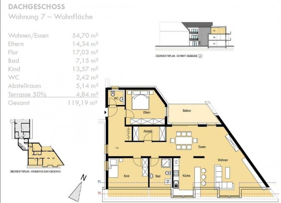 acheter appartement 3 pièces 119.19 m² konz photo 2