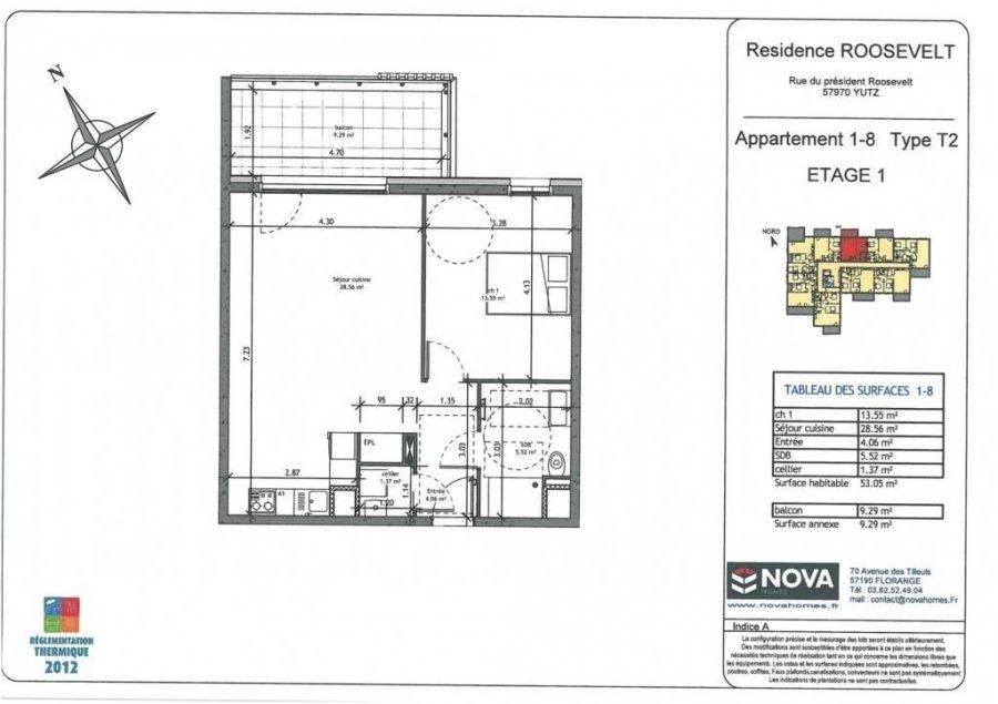 acheter appartement 2 pièces 53.05 m² yutz photo 2