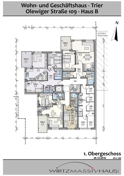wohnung kaufen 2 zimmer 71.33 m² trier foto 4