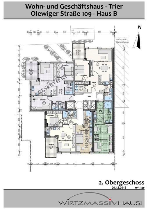 wohnung kaufen 2 zimmer 71.33 m² trier foto 6