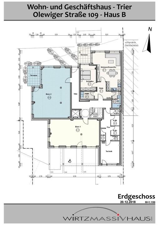 wohnung kaufen 2 zimmer 71.33 m² trier foto 3
