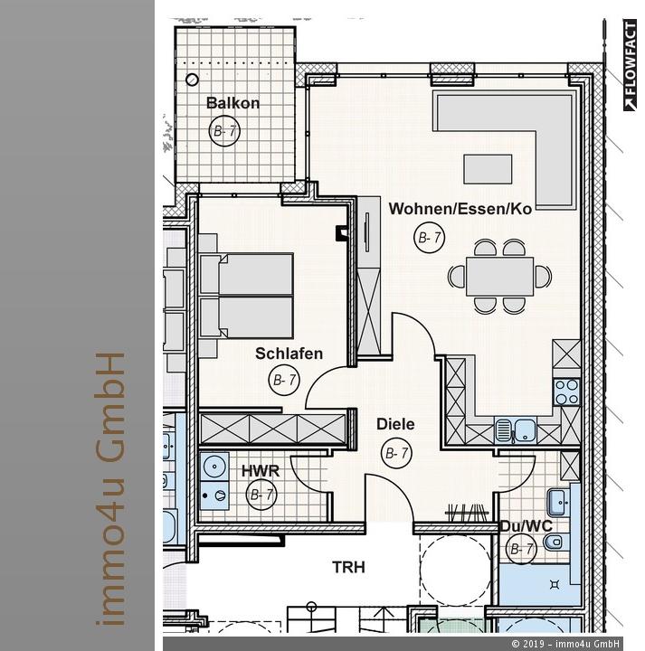 wohnung kaufen 2 zimmer 71.33 m² trier foto 1
