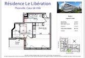 Appartement à vendre F2 à Thionville (FR) - Réf. 6694045