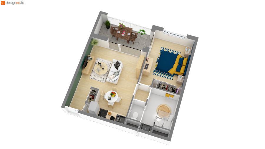 acheter appartement 3 pièces 60 m² saint-herblain photo 3