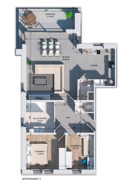 apartment for buy 0 room 89 m² huy photo 3