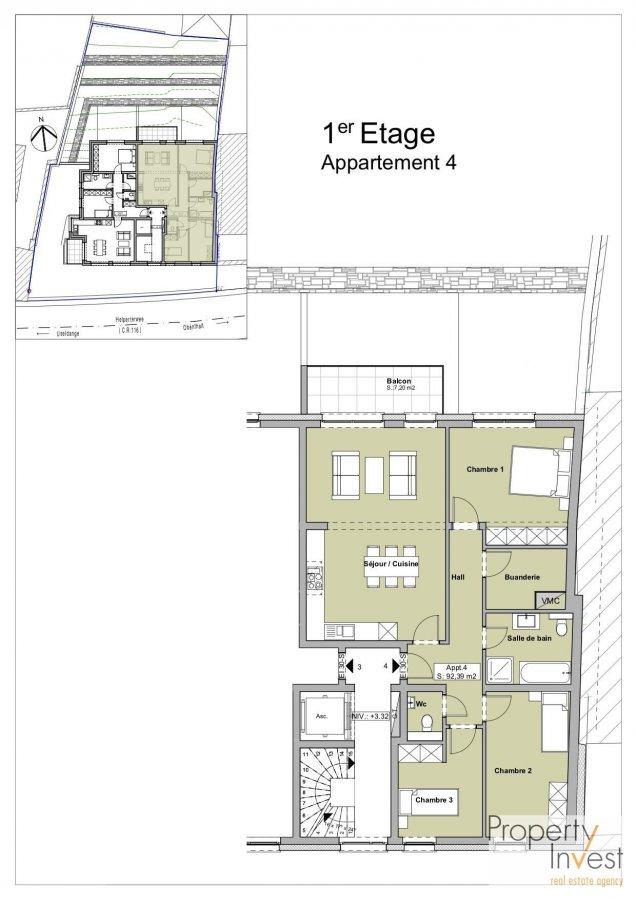 acheter appartement 3 chambres 94 m² buschdorf photo 3