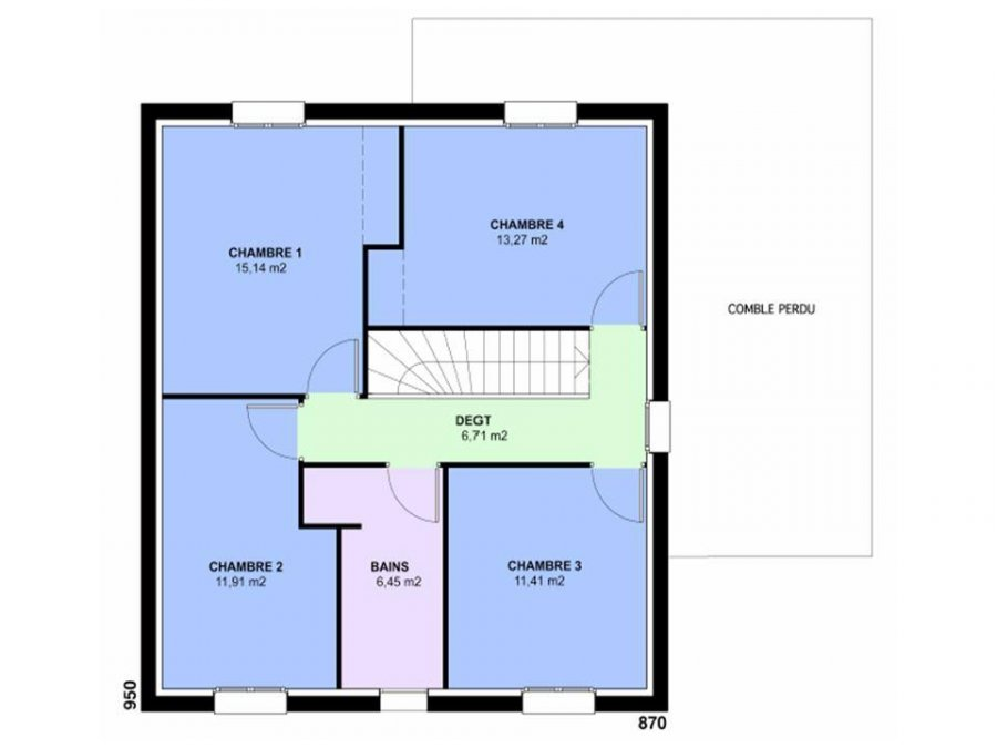 acheter terrain constructible 6 pièces 129 m² vany photo 4