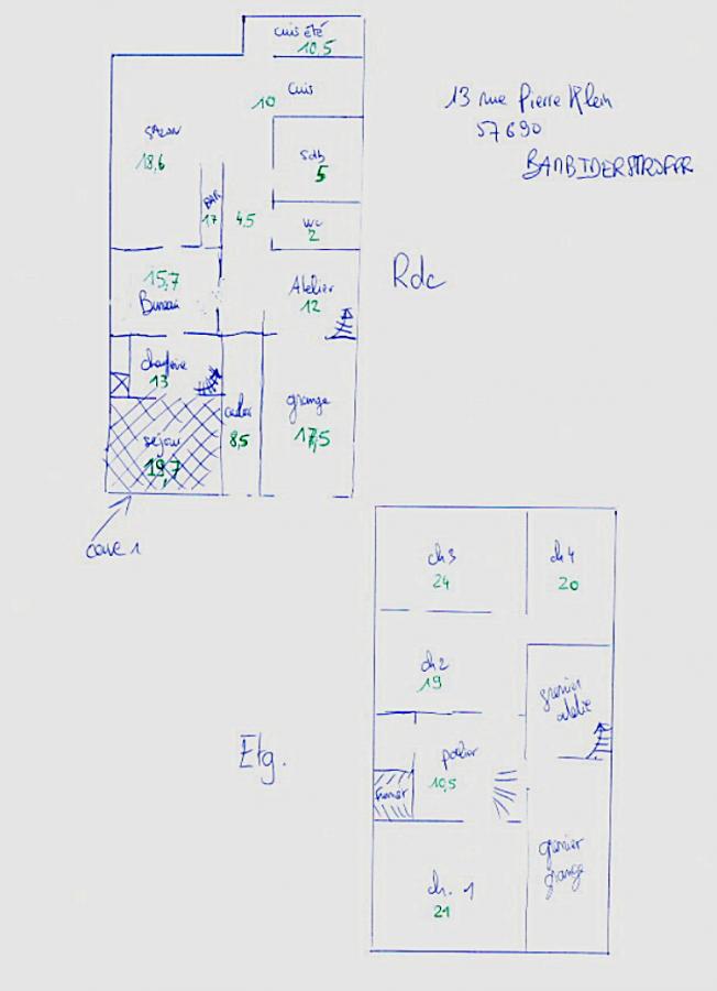 Maison à vendre F6 à Bambiderstroff