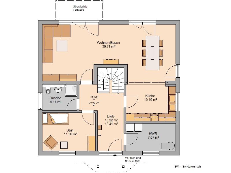 haus kaufen 6 zimmer 152 m² thörnich foto 3