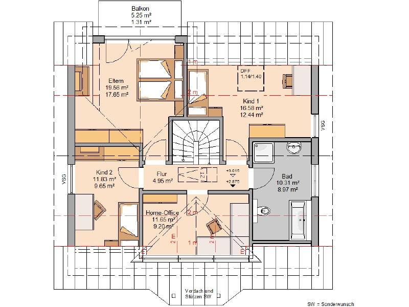 haus kaufen 6 zimmer 152 m² thörnich foto 4