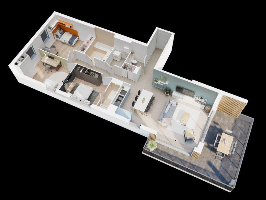 acheter appartement 4 pièces 94.55 m² thionville photo 1