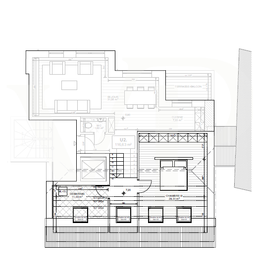 acheter duplex 3 chambres 119 m² useldange photo 4