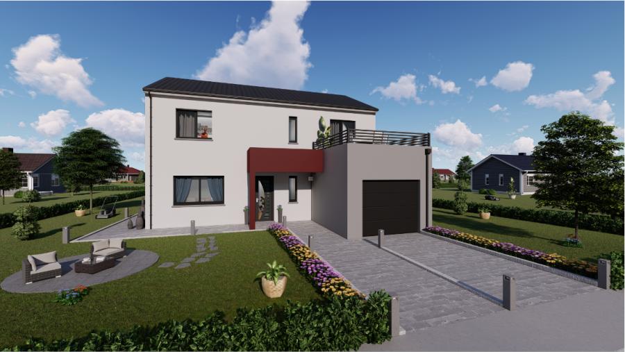 acheter maison individuelle 5 pièces 120 m² dombasle-sur-meurthe photo 1