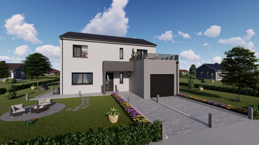 acheter maison individuelle 5 pièces 120 m² dombasle-sur-meurthe photo 2