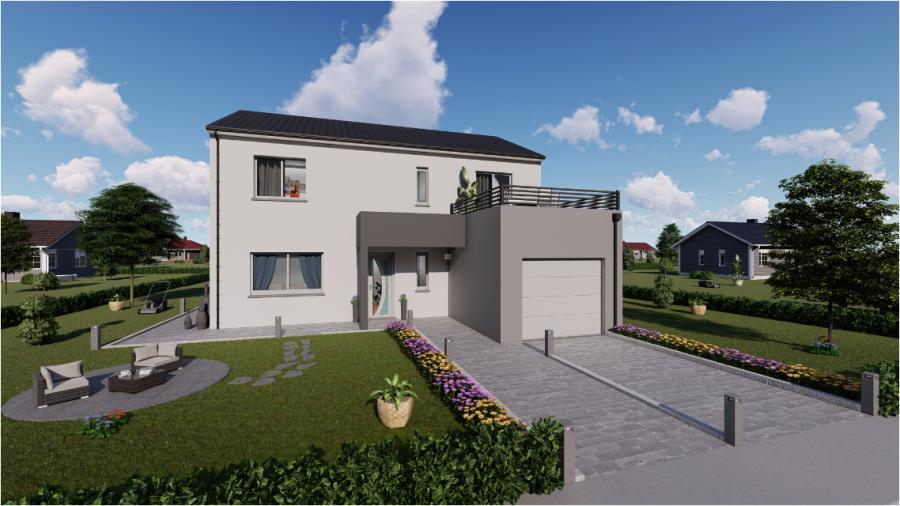 acheter maison individuelle 5 pièces 120 m² dombasle-sur-meurthe photo 3