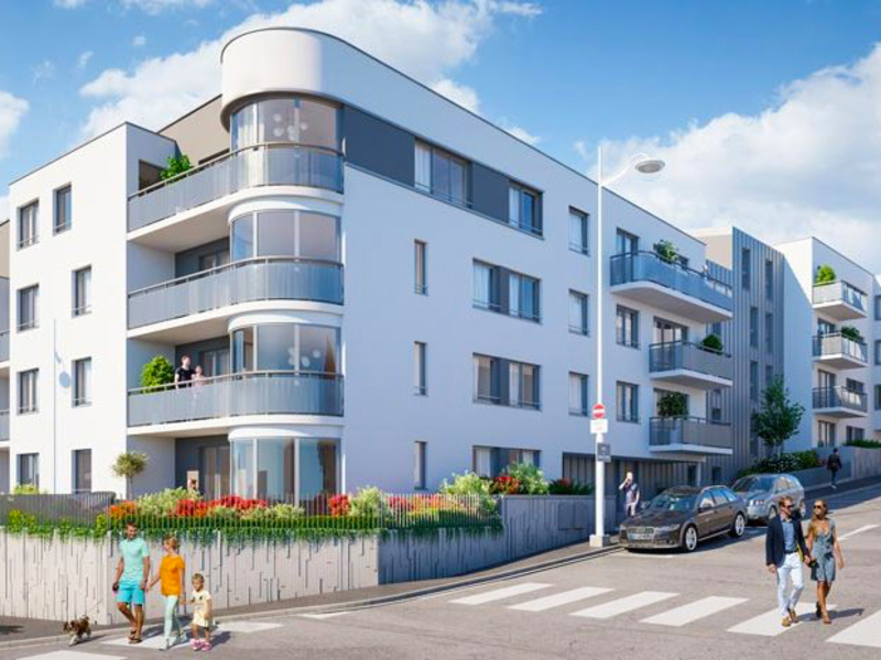 acheter appartement 3 pièces 61 m² nancy photo 2