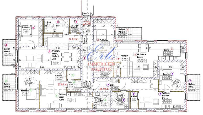 acheter appartement 2 pièces 76.01 m² zerf photo 3