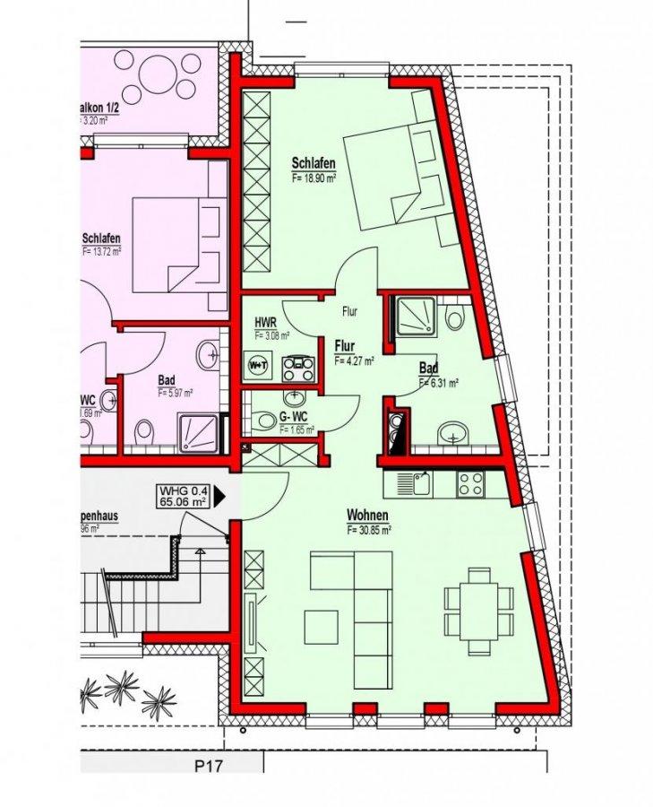 acheter appartement 2 chambres 65.06 m² diekirch photo 1