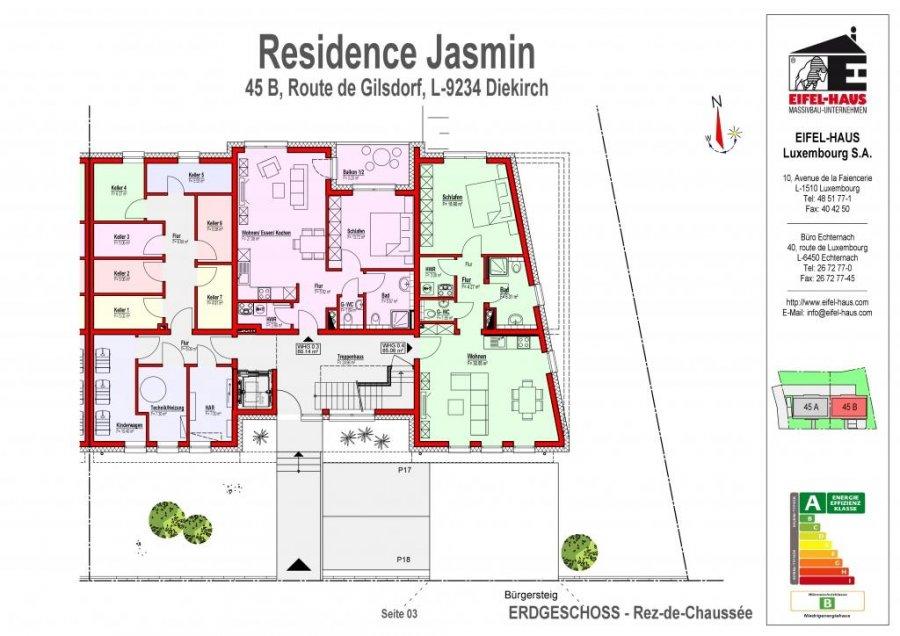 acheter appartement 2 chambres 65.06 m² diekirch photo 2