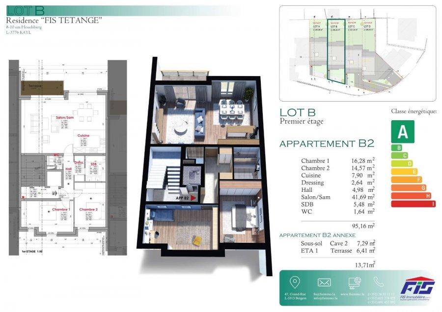 acheter appartement 2 chambres 99 m² tetange photo 5