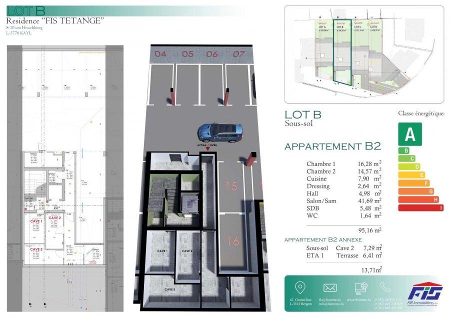 acheter appartement 2 chambres 99 m² tetange photo 6