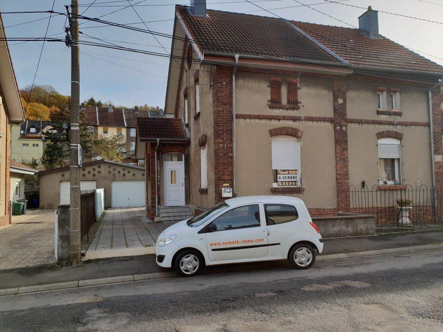 Maison jumelée à vendre F4 à Audun-le-Tiche