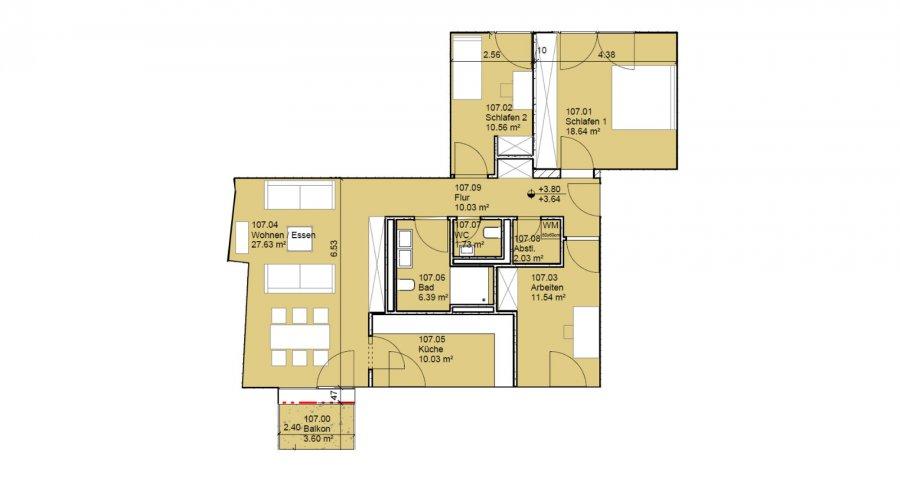 wohnung kaufen 3 schlafzimmer 99 m² echternach foto 2