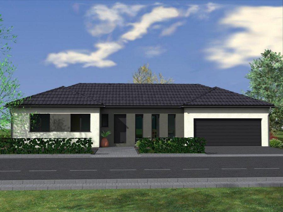 Maison individuelle en vente metzing 105 m 199 000 for Architecture maison individuelle
