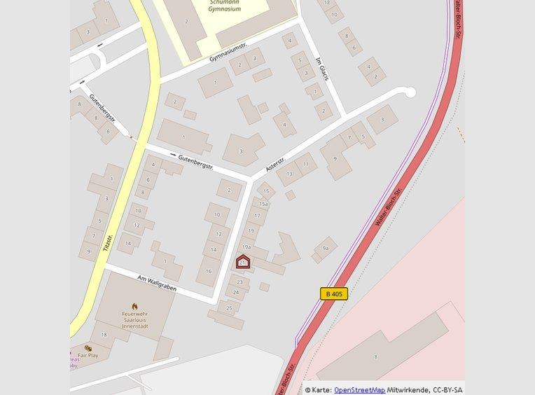 Wohnung zur Miete 4 Zimmer in Saarlouis (DE) - Ref. 7116973