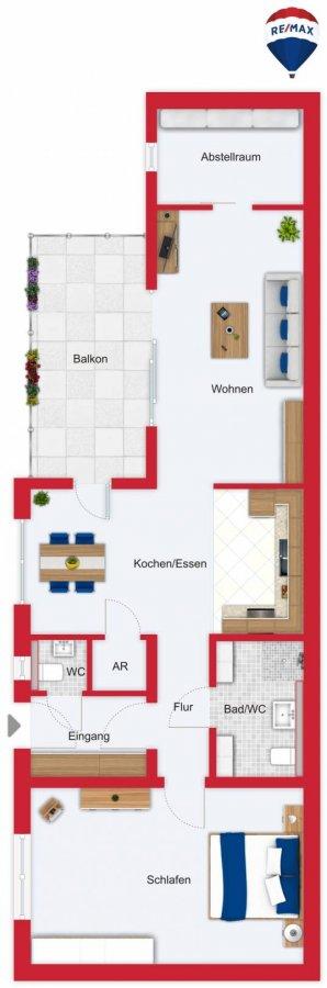 acheter appartement 2 pièces 95 m² beckingen photo 2
